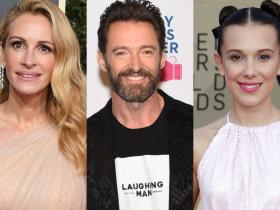 Hugh Jackman,Julia Roberts,Hollywood,Millie Bobby Brown,Coronavirus