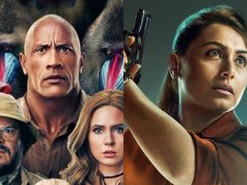 rani mukerji,Dwayne Johnson,Box Office,Mardaani 2,Jumanji: The Next Level