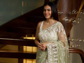 Photos,kajol,white saree,bollywood actress,Bollywood Photos,celebrity style