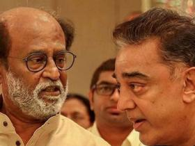 Rajinikanth,Kamal Haasan,South