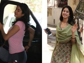 Photos,gym,janhvi kapoor