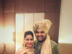 Kapil Sharma,Sumona Chakravarti,photos