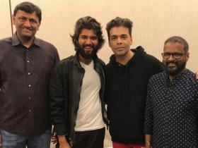 Karan Johar,Vijay Deverakonda,South