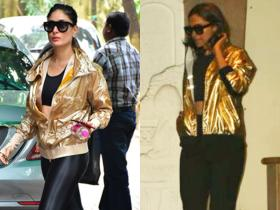 deepika padukone,kareena kapoor khan,Faceoffs,gold jacket
