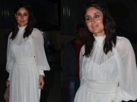 Celebrity Style,fashion,kareena kapoor khan,white dress