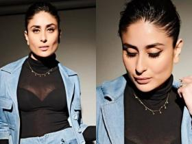 Celebrity Style,kareena kapoor khan,kareena kapoor good newwz,kareena kapoor denim
