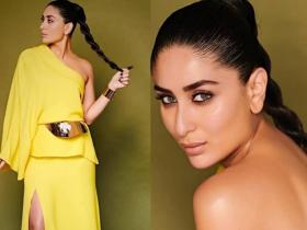 Celebrity Style,fashion,kareena kapoor khan,yellow