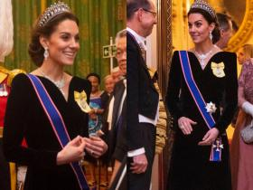 Celebrity Style,kate middleton,kate middleton alexander mc queen,kate middleton lovers knot tiara