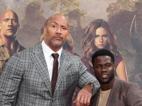 Dwayne Johnson,The Rock,Kevin Hart,Hollywood,black adam,Jumanji: The Next Level