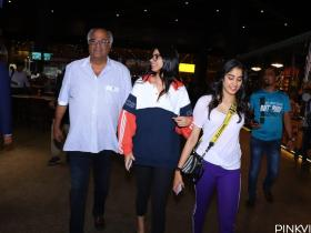 Photos,sridevi,boney kapoor,janhvi kapoor