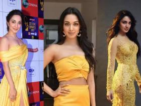 Celebrity Style,fashion,Kiara advani,yellow outfit