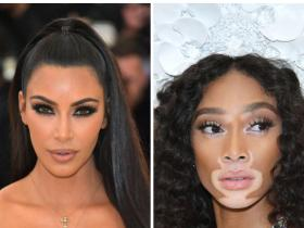 Celebrity Style,kim kardashian,winnie harlow,collab