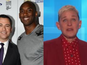 Jimmy Fallon,Jimmy Kimmel,Ellen DeGeneres,Hollywood,Kobe Bryant,Kobe Bryant death