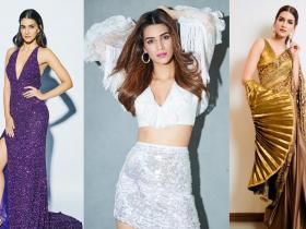 Celebrity Style,Kriti Sanon,Fashionable looks,Sequins trend