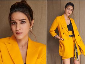 Celebrity Style,Kriti Sanon,promotional look,arjun patiala