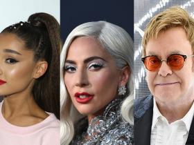 lady gaga,Ariana Grande,Elton John,Hollywood,Chromatica