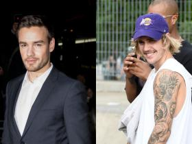 justin bieber,Liam Payne,Hollywood