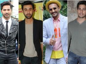 Shahid Kapoor,Ranbir Kapoor,arjun kapoor,Sidharth Malhotra,aditya roy kapur,Varun Dhawan,Best Dressed,The India Luxury Style Week