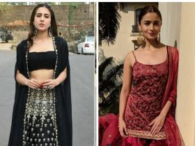 Celebrity Style,alia bhatt,Wedding,Sara Ali Khan,outfit inspiration