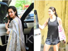 Photos,malaika arora,Sara Ali Khan