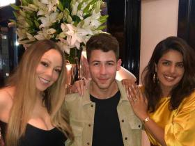 Mariah Carey,Priyanka Chopra Nick Jonas,Hollywood