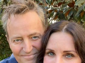 courteney cox,matthew perry,Hollywood