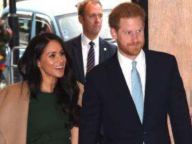 Prince Harry & Meghan Markle get the WARMEST welcome to