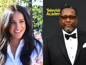 Meghan Markle and Prince Harry,Hollywood,Wendall Pierce