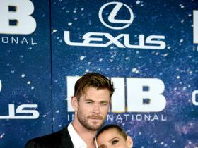 Chris Hemsworth,Elsa Pataky,Tessa Thompson,Hollywood,Men in black: international