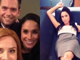 Meghan Markle,Patrick J Adams,Hollywood,Suits finale