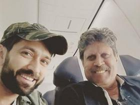 Nakuul Mehta,Kapil Dev,photos