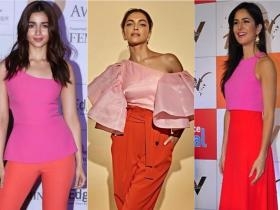 Celebrity Style,deepika padukone,katrina kaif,alia bhatt,Fashion Faceoff,colour blocking