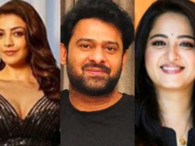 Kajal Aggarwal,Anushka Shetty,Prabhas,South