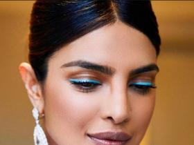 Beauty,Makeup Tutorial,priyanka chopra jonas,neon eyeliner