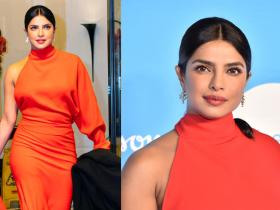 Celebrity Style,Priyanka Chopra,priyanka chopra jonas,priyanka chopra red dress