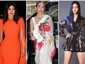 Priyanka Chopra,malaika arora,Best Dressed,celebrity style,Annaya Panday