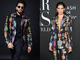 Ranveer Singh,Faceoffs,Sara Sampaio,victorias secret