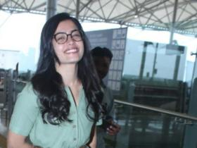south films,airport look,Rashmika Mandanna,South