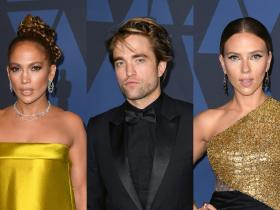 Jennifer Lopez,Robert Pattinson,Scarlett Johansson,Hollywood,Oscars 2020,11th Annual Governors Awards