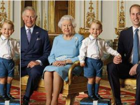 Photos,Prince William,Queen Elizabeth II,Prince Charles,Prince George