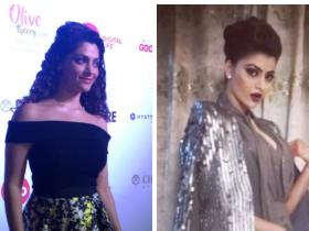 Photos,Urvashi Rautela,Saiyami Kher,MIRZYA,62nd JIO Filmfare awards