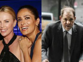Salma Hayek,Harvey Weinstein,Charlize Theron,Hollywood