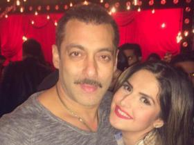 News,salman khan,Zareen Khan