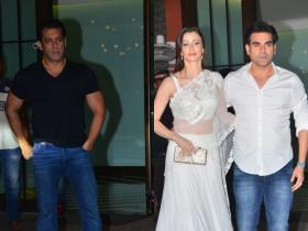 Photos,salman khan,arbaaz khan,Arpita Khan,Ayush Sharma