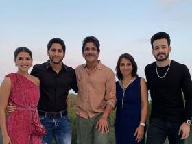 Nagarjuna,Naga Chaitanya,Samantha Akkineni,South
