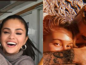 justin bieber,Selena Gomez,Hailey Baldwin,Hollywood