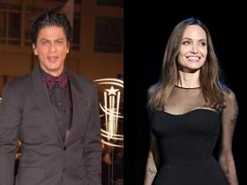 shah rukh khan,angelina jolie,Hollywood