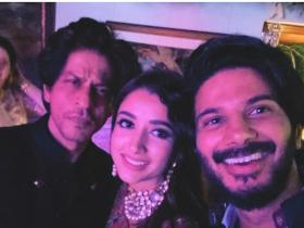 shah rukh khan,Dulquer Salmaan,South
