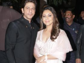 Photos,gauri khan,shah rukh khan,Bachchan Diwali party
