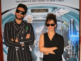 Photos,Sanya Malhotra,Siddhant Chaturvedi,Men in black: international